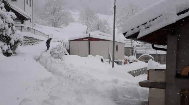Neve nel piacentino 8 dicembre