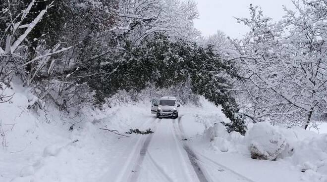 neve strade provinciali