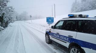 Nevicata a Bobbio