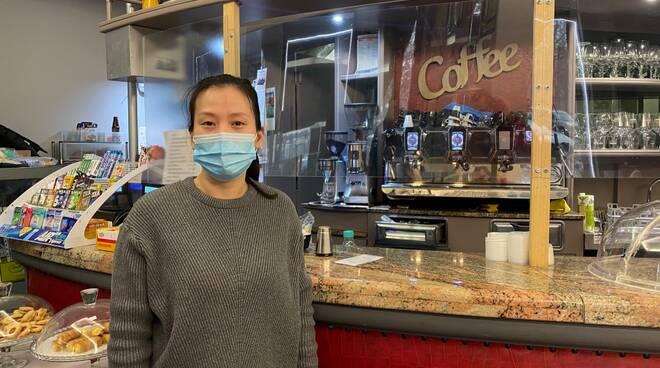 angela Huang barista