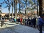Cerimonia commemorazione delle vittime della Shoa