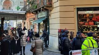 Gente centro Piacenza covid