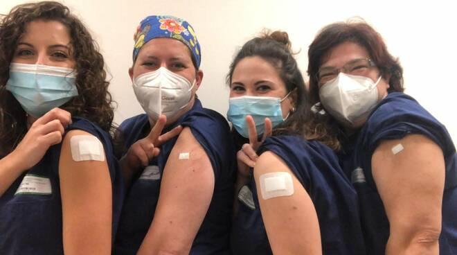 infermiere Ausl vaccinate
