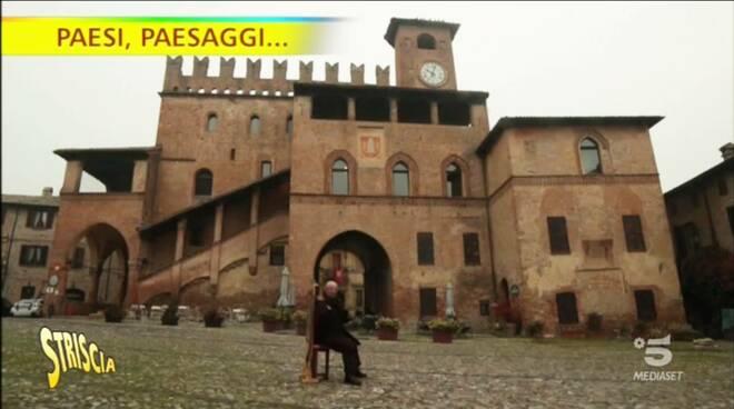 Striscia la Notizia Castell'Arquato