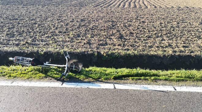 bicicletta incidente
