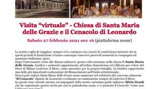 Visita virtuale a Chiesa di Santa Maria delle Grazie e Cenacolo di Leonardo