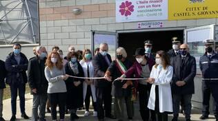 Centro vaccinazioni covid Castel San Giovanni