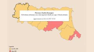 dati febbraio province covid