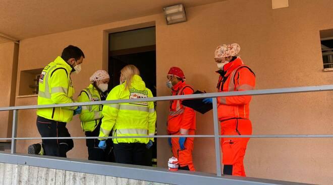 donna morta via Roma vigili del fuoco 118