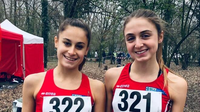 Emma casati e Mia Albasi (Atletica Piacenza)
