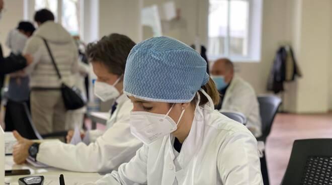 Inaugurazione polo vaccinale covid a Piacenza