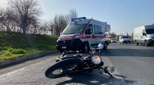 incidente moto tangenziale