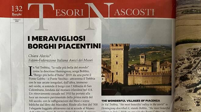 La rivista Borghi e città magazine