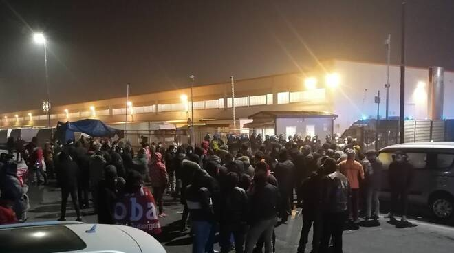Manifestazione Fedex Tnt