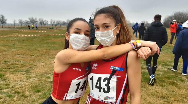 Monia Harbi e Allegra Santelli (Atletica Piacenza)