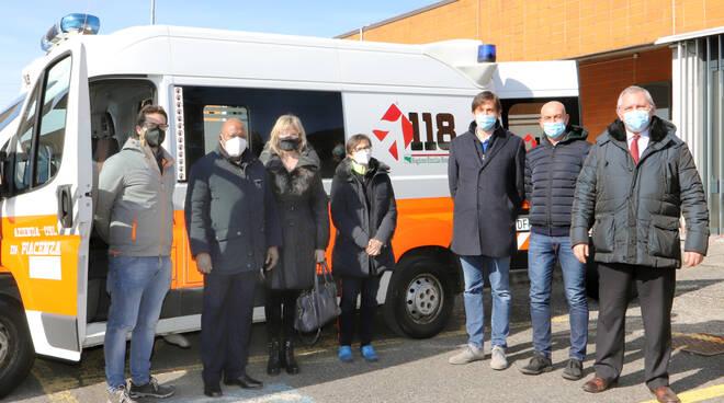 nuova ambulanza Ausl