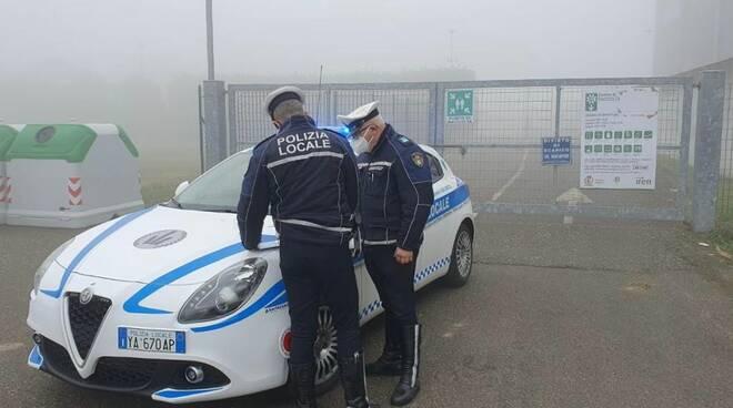 polizia locale area ecologica