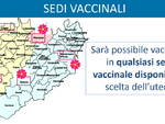 sedi vaccinazione cartina