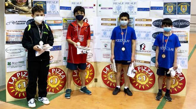 Torneo tennistavolo giovanile