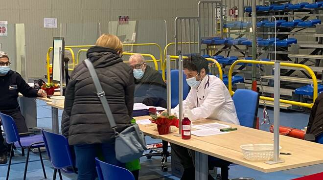 centro vaccinale Castelsangiovanni