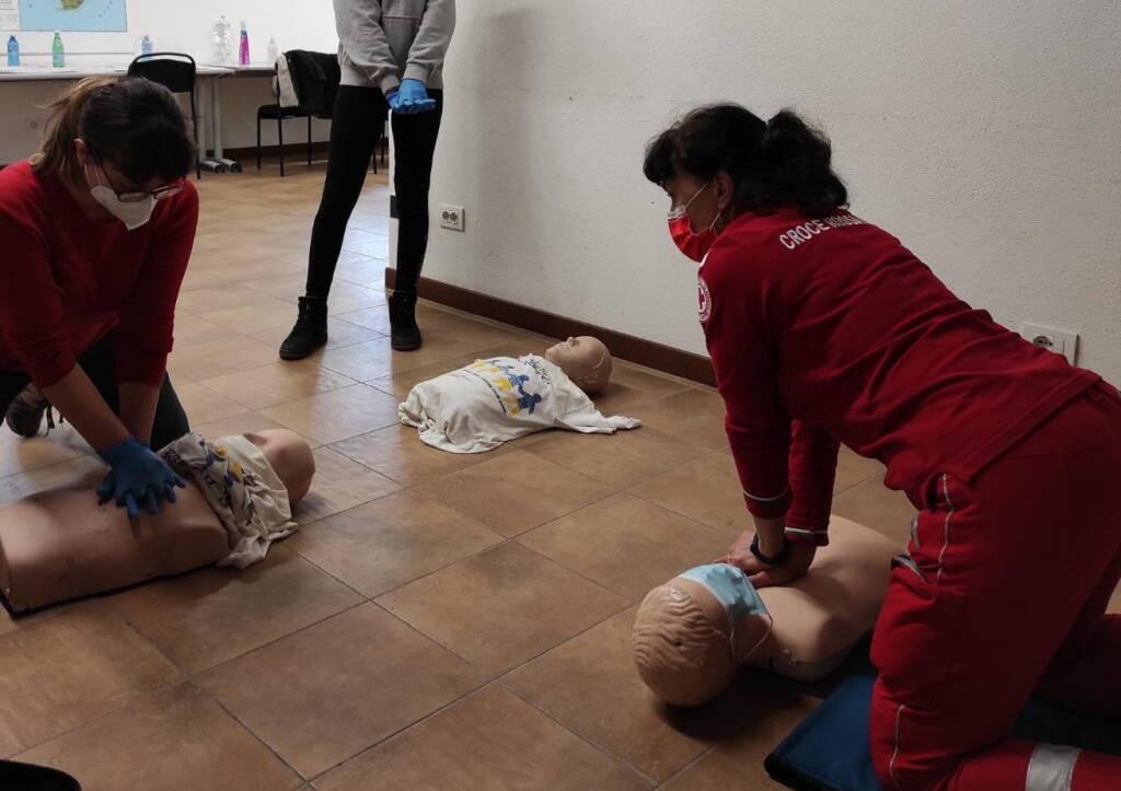 corso volontari Croce Rossa Piacenza