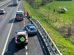 incidente autostrada Piacenza Ovest camion