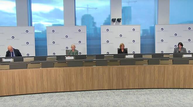 La conferenza stampa Ema