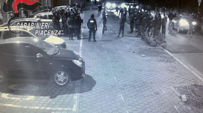 manifestazione carabinieri Biselli