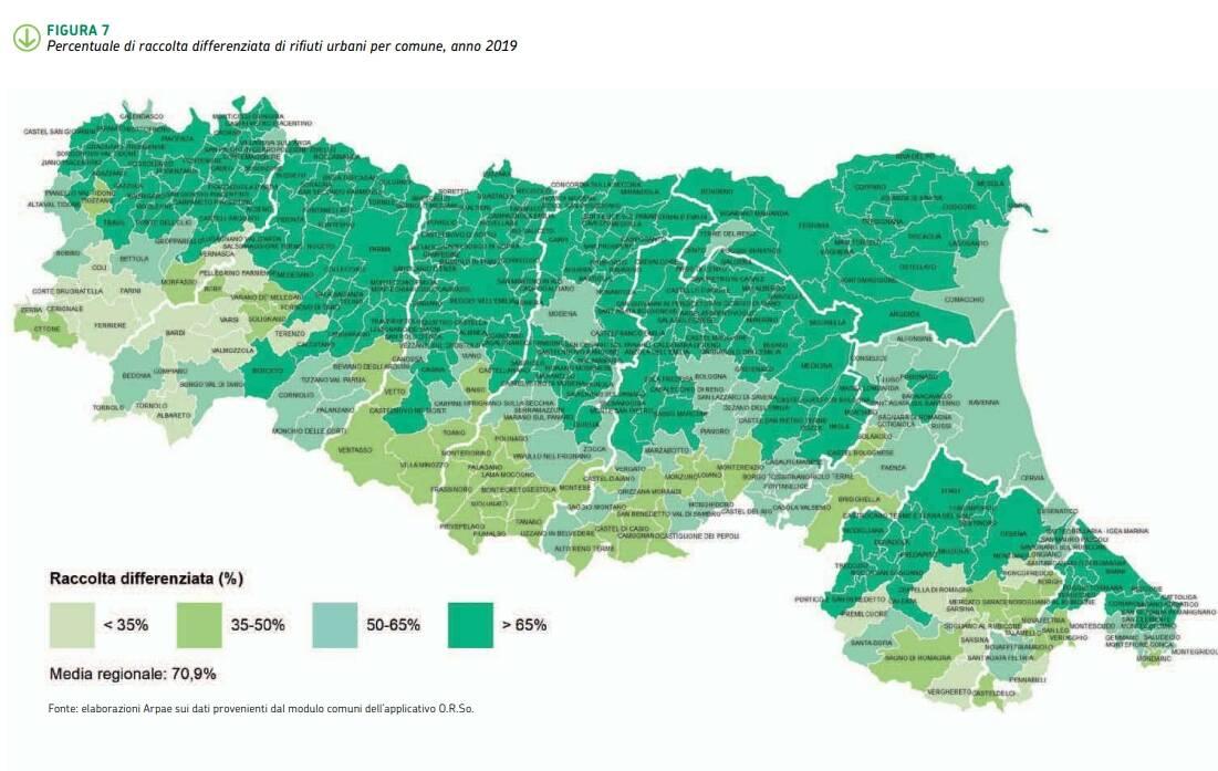 Mappa rifiuti 2019