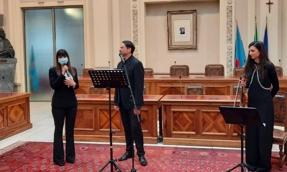 Recital Dante in Provincia
