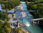 Rendering ponte provvisorio