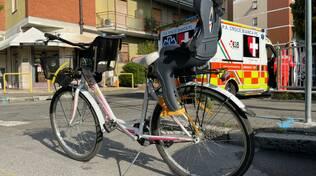 bici mamma ambulanza