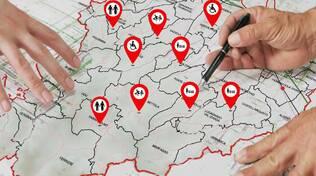 cooperazione mappa
