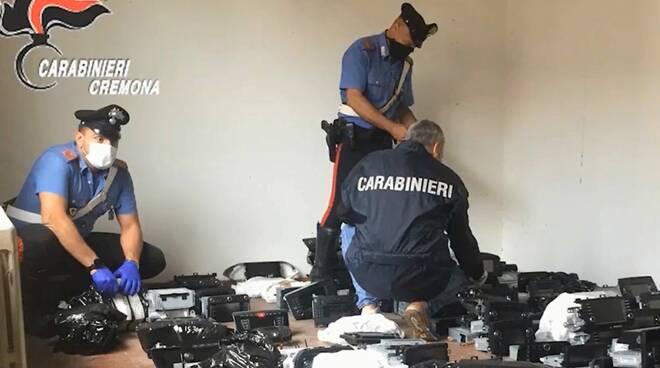 furti auto carabinieri