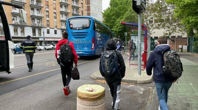 Il ritorno a scuola in zona gialla a Piacenza