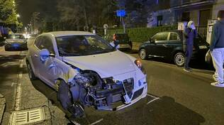 incidente via Veneto