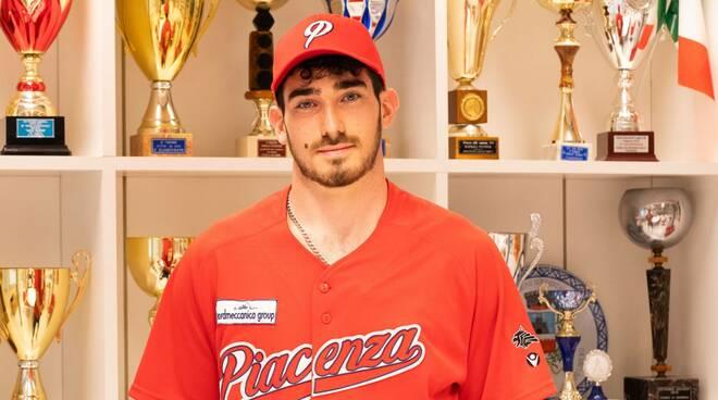 Kevin Bryan Gibson (Piacenza Baseball) foto di Aldo Scorsoglio