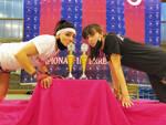 Nella foto, da sinistra Natalia Coeva e Nikol Ilieva (Yama Arashi)