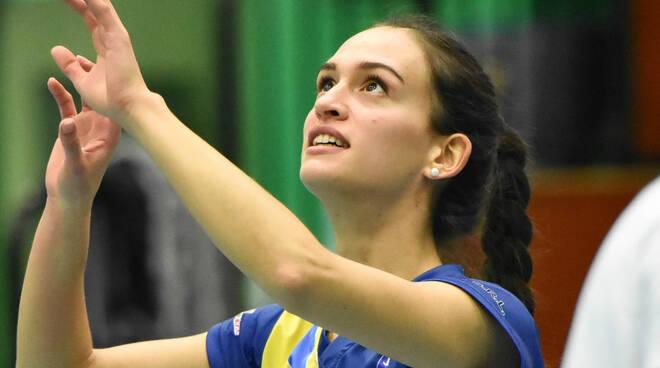 Nella foto di Luciano Girardi, Giulia Malvicini in maglia Conad Alsenese