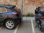 Parcheggio selvaggio in città