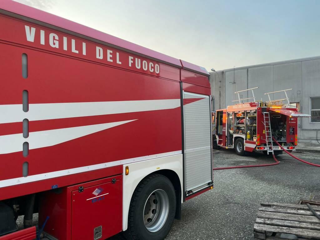 vigili del fuoco Gragnanino incendio
