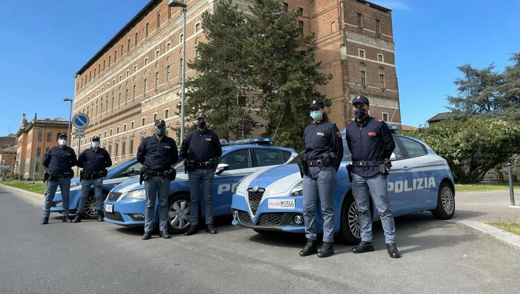 Volanti polizia a Palazzo Farnese