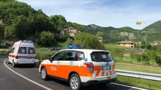 Ambulanza 118 Marsaglia soccorsi