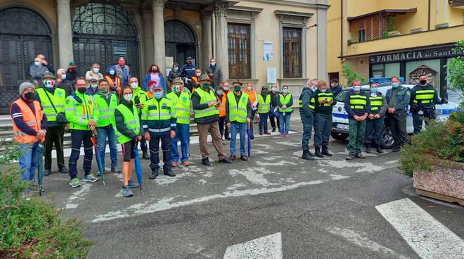 Cadeo volontari giro d'Italia