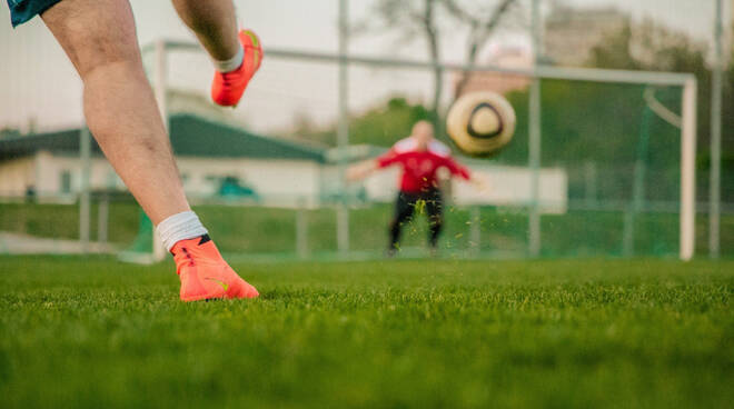 Calcio allenamento