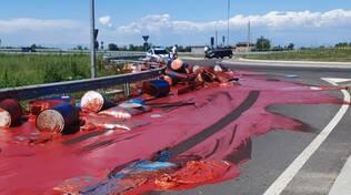 colore in strada tangenziale