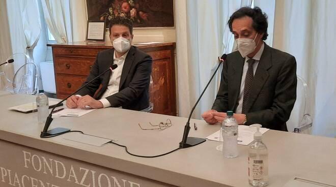 Davide Goldoni (Credit Agricole) Massimo Toscani (Fondazione)