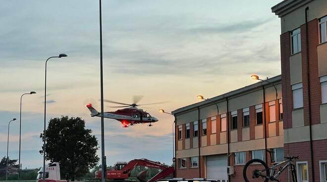 elicottero vigili del fuoco Drago
