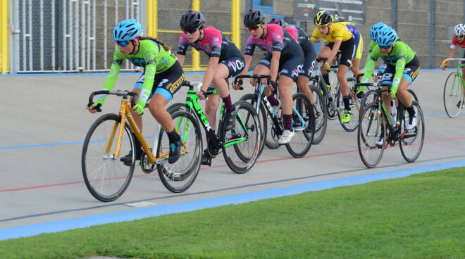 Gara giovanile velodromo fiorenzuola