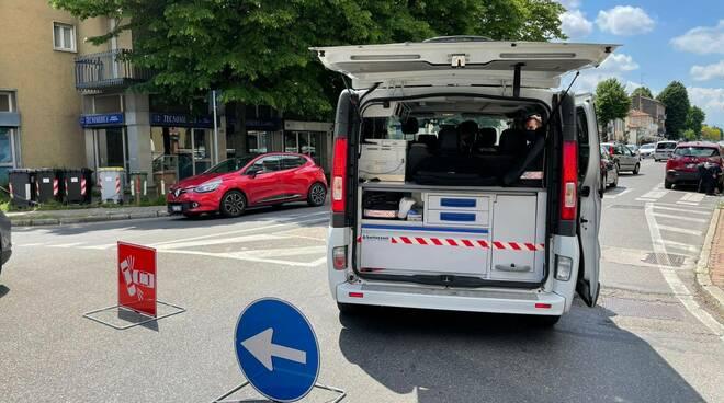 Incidente via Veneto